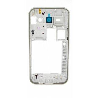 Samsung J100H Galaxy J1 Mittel Gehäuse, Weiß, GH98-36088A, DUOS