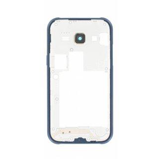 Samsung J100H Galaxy J1 Middenbehuizing, Blauw, GH98-36088B, DUOS