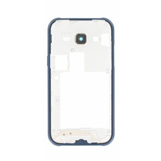 Samsung J100H Galaxy J1 Mittel Gehäuse, Blau, GH98-36088B, DUOS