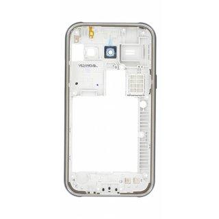 Samsung J100H Galaxy J1 Mittel Gehäuse, Schwarz, GH98-36088C, DUOS