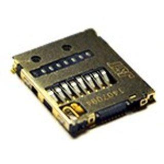 Sony Xperia Z5 Compact E5803 MicroSD kaartlezer connector, 1281-9124