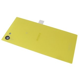 Sony Xperia Z5 Compact E5803 Battery Cover, Yellow, 1295-4898