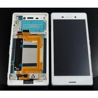 Sony Xperia M4 Aqua E2303 Lcd Display Module, Wit, 124TUL0010A