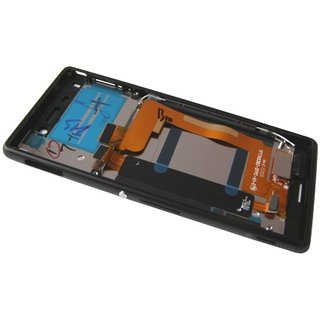 Sony Xperia M4 Aqua E2303 LCD Display Modul, Schwarz, 124TUL0011A