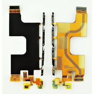 Sony Xperia Z3 plus E6553 Flex Kabel, 1288-6300, Incl. side strip, microphone