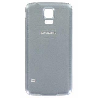 Samsung G903F Galaxy S5 Neo Akkudeckel , Silber, GH98-37898C