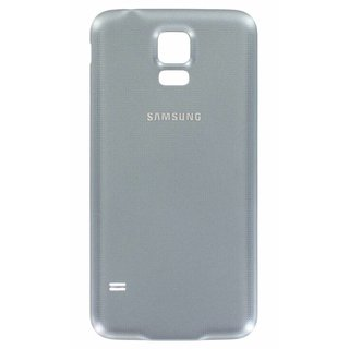Samsung G903F Galaxy S5 Neo Battery Cover, Silver, GH98-37898C