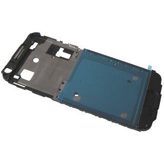 Samsung J100H Galaxy J1 Front Cover Rahmen, Schwarz, GH98-36019A, DUOS