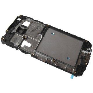 Samsung J100H Galaxy J1 Front Cover Frame, Zwart, GH98-36019A, DUOS