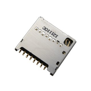 LG H320 Leon MicroSD kaartlezer connector, EAG62830201