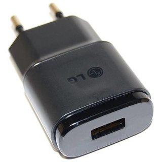 LG H320 Leon USB-Oplader, Zwart, EAY62709906, 4.75V,  0,85A, MCS-02ED_EAC