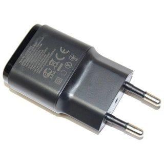 LG H320 Leon USB-Ladegerät, Schwarz, EAY62709906, 4.75V,  0,85A, MCS-02ED_EAC
