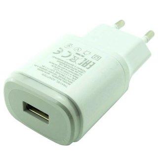 LG H818 G4 Dual USB-Ladegerät, Weiß, EAY64268602, 5V 1.8A, MCS-04ER3_W2 90VAC