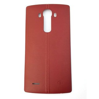 LG H818 G4 Dual Battery Cover, Red, ACQ88363105