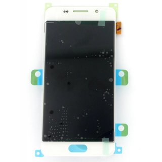 Samsung A310F Galaxy A3 2016 LCD Display Module, White, GH97-18249A