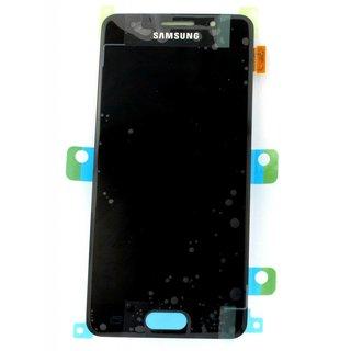 Samsung A310F Galaxy A3 2016 LCD Display Modul, Schwarz, GH97-18249B