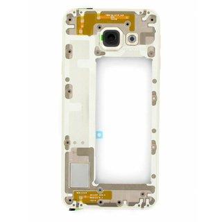 Samsung A310F Galaxy A3 2016 Mittel Gehäuse, Gold, GH97-18074A