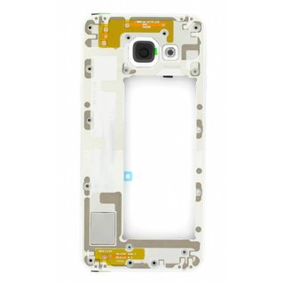 Samsung A310F Galaxy A3 2016 Middle Cover, White, GH97-18074C