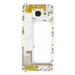 Samsung A310F Galaxy A3 2016 Mittel Gehäuse, Weiß, GH97-18074C