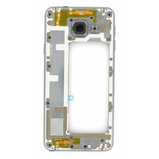 Samsung A310F Galaxy A3 2016 Middenbehuizing, Zwart, GH97-18074B