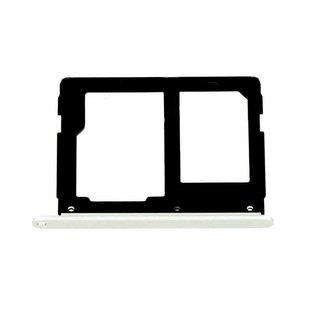 Samsung A310F Galaxy A3 2016 Sim + Memory Card Cover, White, GH98-38665C;GH98-39610C