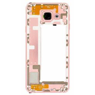 Samsung A310F Galaxy A3 2016 Mittel Gehäuse, Rosa, GH97-18074D