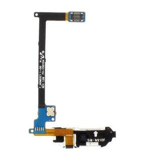 Samsung N910F Galaxy Note 4 Home Button Flex, Goud, GH96-07432C