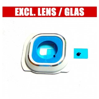 Samsung G920F Galaxy S6 Kamera Ring Blende  , Weiß, GH98-35903B