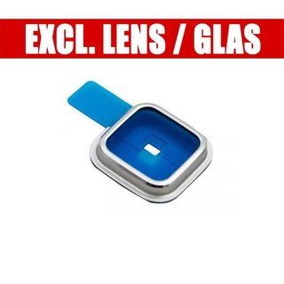 Samsung G900F Galaxy S5 Camera Ring Cover, Silver, GH98-31721A, Without Glass/lens