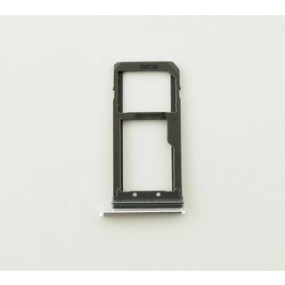 Samsung G930F Galaxy S7 Sim- + Geheugenkaart Cover, Zilver, GH98-39260B