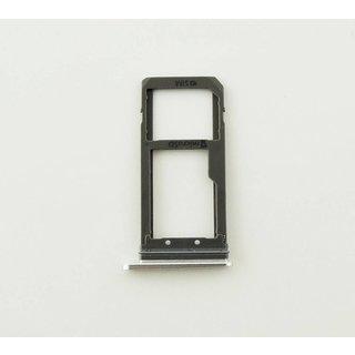 Samsung G930F Galaxy S7 Sim + Memory Card Cover, Silver, GH98-39260B