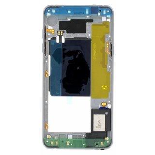 Samsung A510F Galaxy A5 2016 Middenbehuizing, Zwart, GH96-09392B