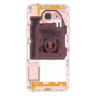 Samsung A510F Galaxy A5 2016 Middenbehuizing, Roze, GH96-09392D
