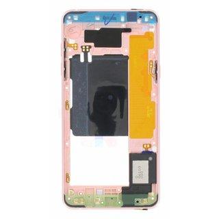 Samsung A510F Galaxy A5 2016 Mittel Gehäuse, Rosa, GH96-09392D