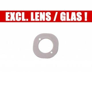 LG H818 G4 Dual Kamera Ring Cover Dekoration, Grau, MCR66127701, Excl. Lens/Window