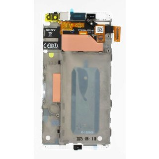 Sony Xperia C4 E5303 LCD Display Modul, Weiß, A/8CS-59160-0002