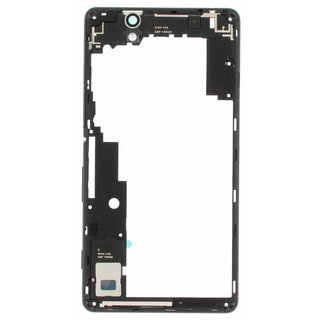 Sony Xperia C4 E5303 Middenbehuizing, Zwart, A/402-59160-0001