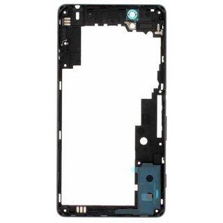Sony Xperia C4 E5303 Mittel Gehäuse, Schwarz, A/402-59160-0001