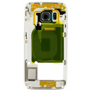 Samsung G925F Galaxy S6 Edge Middle Cover, Green, GH96-08376E
