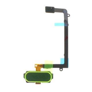 Samsung G925F Galaxy S6 Edge Home Button Flex, Green, GH96-08253E