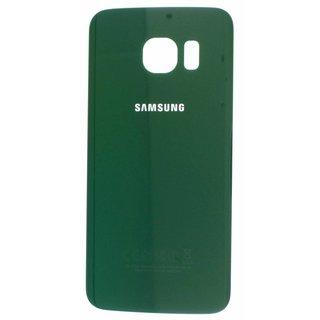 Samsung G925F Galaxy S6 Edge Akkudeckel , Grün, GH82-09602E
