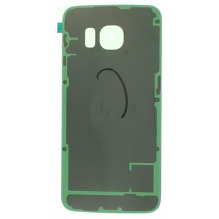 Samsung G925F Galaxy S6 Edge Battery Cover, Green, GH82-09602E