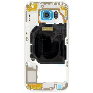 Samsung G920F Galaxy S6 Middle Cover, Blue, GH96-08583D