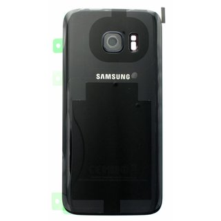 Samsung G930F Galaxy S7 Battery Cover, Black, GH82-11384A