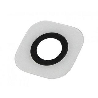 Samsung G920F Galaxy S6 Kamera Scheibe , Weiß, Excl. Adhesive / Tape, GH64-04536B