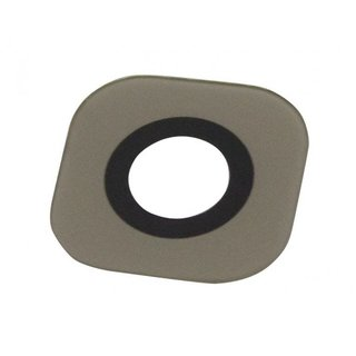 Samsung G920F Galaxy S6 Camera Venster, Goud, Excl. Adhesive / Tape, GH64-04536C