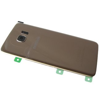 Samsung G935F Galaxy S7 Edge Battery Cover, Gold, GH82-11346C