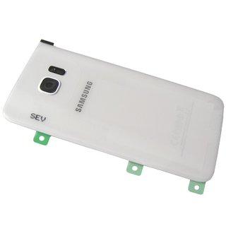Samsung G935F Galaxy S7 Edge Battery Cover, White, GH82-11346D