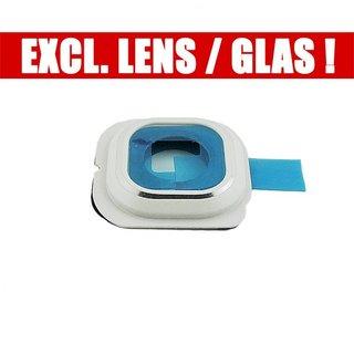 Samsung G925F Galaxy S6 Edge Kamera Ring Blende  , Weiß, GH98-35867B, Without Glass/Lens