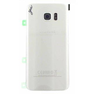 Samsung G935F Galaxy S7 Edge Akkudeckel , Silver, GH82-11346B